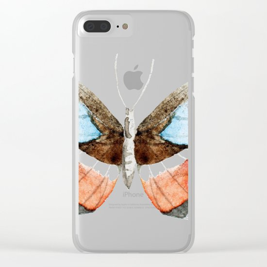 Butterfly 09 Clear iPhone Case