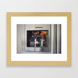 Save water! Take a shower with a colleague! Framed Art Print