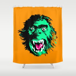 APEZILLA2B (2013) Recolored Shower Curtain