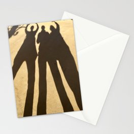Three ladies shadow Stationery Cards