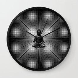 Spacial Energy Buddah Mesh Wall Clock