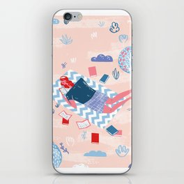I have always imagined that Paradise will be a kind of library - Borges iPhone Skin