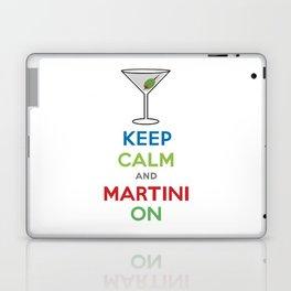 Keep Calm and Martini On Laptop & iPad Skin