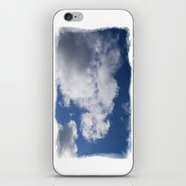 Clouds Over Hill iPhone Skin