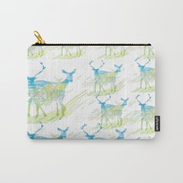 Deer Pattern Carry-All Pouch