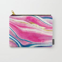 Handmade Watercolor Vivids  Carry-All Pouch