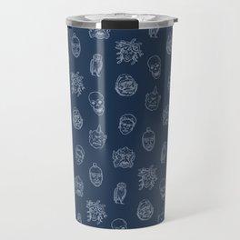 Little Monsters (blue) Travel Mug