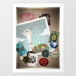 Fallout: New Vegas Art Print