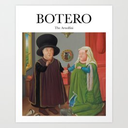 Botero - The Arnolfini Art Print