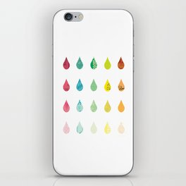 The Color of Rain iPhone Skin