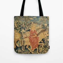 Two Scenes from Der Busant Tote Bag