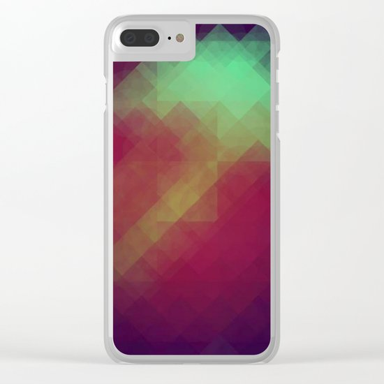 Jelly Pixel Clear iPhone Case