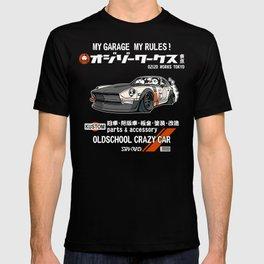 Crazy Car Art 0125 T-shirt