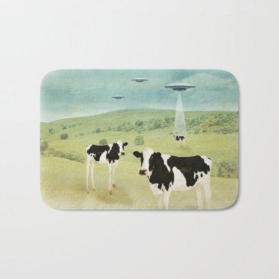 we all like burgers _ US AND THEM  Bath Mat