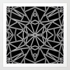 Ab Star Art Print