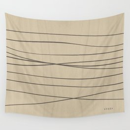 Smooth Stripes Wall Tapestry