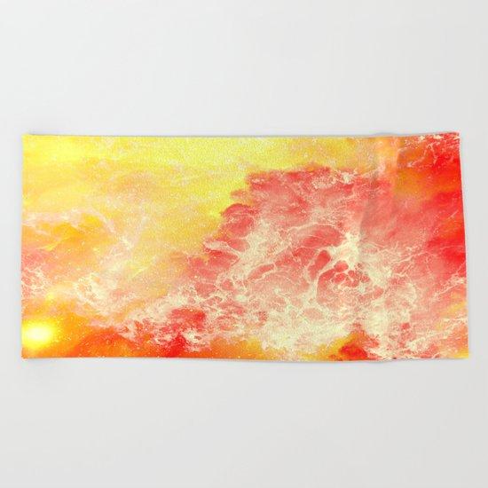 Lovers on the Sun Beach Towel