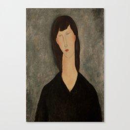 "Amedeo Modigliani ""Bust of a Woman"" Canvas Print"