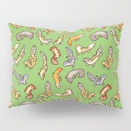geckos in green Pillow Sham