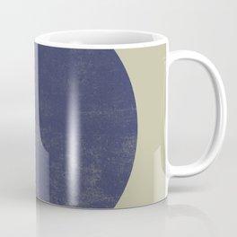 Black and Gold Circle 09 Coffee Mug