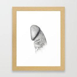 Penis Framed Art Print