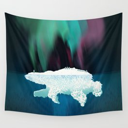 Polar Ice Wall Tapestry