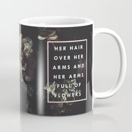 Arms Full Of Flowers Coffee Mug