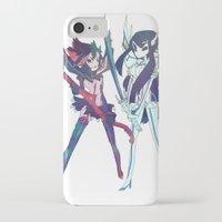 kill la kill iPhone & iPod Cases featuring Kill la Kill by sarlisart