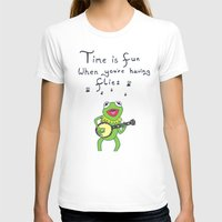 muppets T-shirts featuring Muppets Kermit by BlackBlizzard