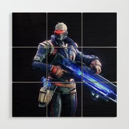 Soldier 76 v2 Wood Wall Art