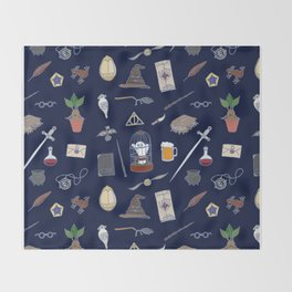 Harry Pattern Night Throw Blanket