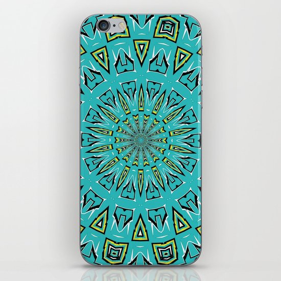 Blue Radiant Sun... iPhone & iPod Skin