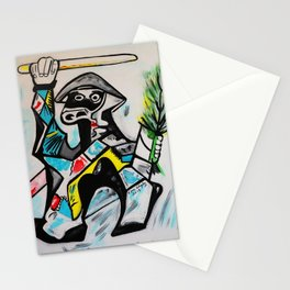 KUNG-FU FIGHTER Stationery Cards