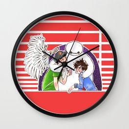 Satisfied With your Care Wall Clock