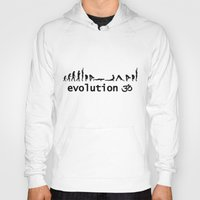 evolution Hoodies featuring evolution by Maria Durgarian