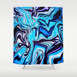 Cooling Off For Summer Shower Curtain