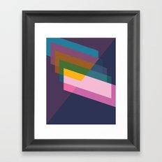 Cacho Shapes LVI Framed Art Print