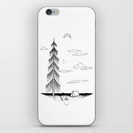 Droopy Tree iPhone Skin