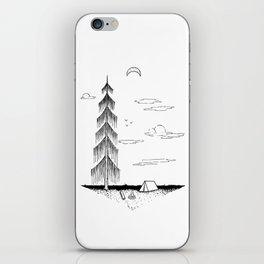 Droopy Tree iPhone Skin