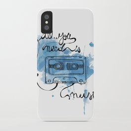 Music's all you need iPhone Case