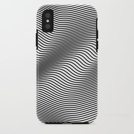 Bold Minimal Lines iPhone Case