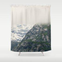 In Glacier Bay Shower Curtain