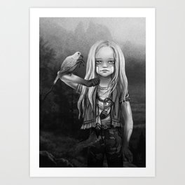 Gates of Neverland Art Print