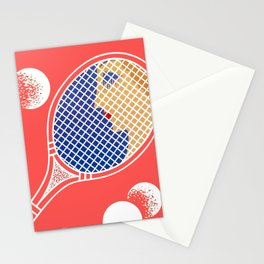 "Art Deco Design ""Love – Tennis Suite"" Stationery Cards"