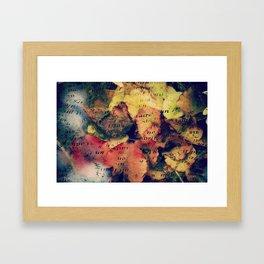 Waterlily Leaves - JUSTART © Framed Art Print