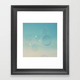 bubble 3 ... Framed Art Print