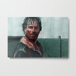 Don't Mess WIth Rick Grimes - The Walking Dead Metal Print