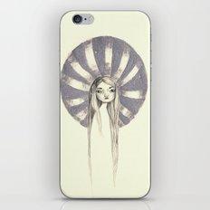 twin - silver iPhone & iPod Skin