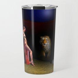 Midnight Encounter (Find the hidden pug) Travel Mug