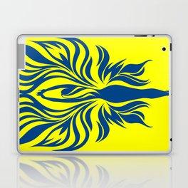 Aura Wings (Maize & Blue) Laptop & iPad Skin